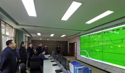 陕西省住建厅赴西安市督导调研城镇供热工作