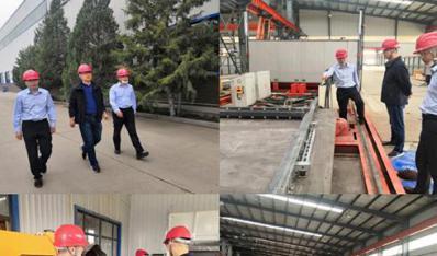 乌海市住建局现场督导装配式建筑产业项目