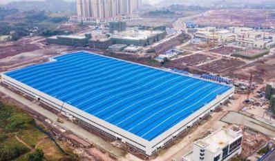 内江唯一!西南最大的钢结构装配式建筑生产基地将于年底投用