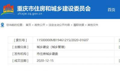 2020年重庆市装配式建筑产业基地名单