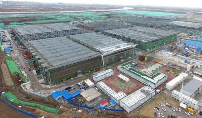 天津市全力推进国家会展中心等重点工程建设