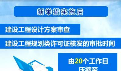 天津市出台工程建设项目审批20条新举措