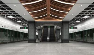 天津地铁4号线南段进入装饰装修阶段